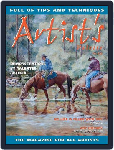 Artist's Palette (Digital) September 26th, 2014 Issue Cover