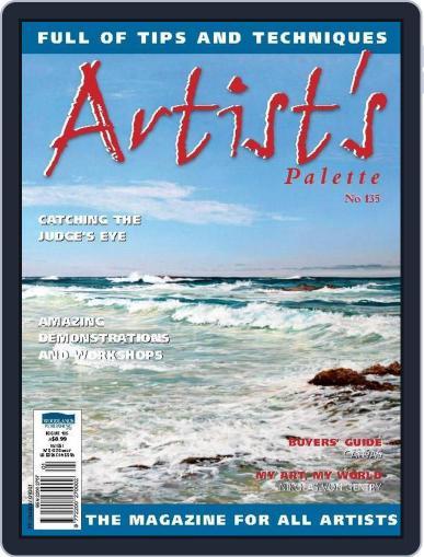 Artist's Palette (Digital) June 30th, 2014 Issue Cover