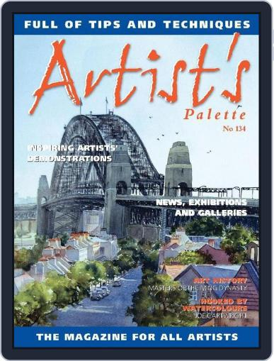 Artist's Palette (Digital) May 24th, 2014 Issue Cover