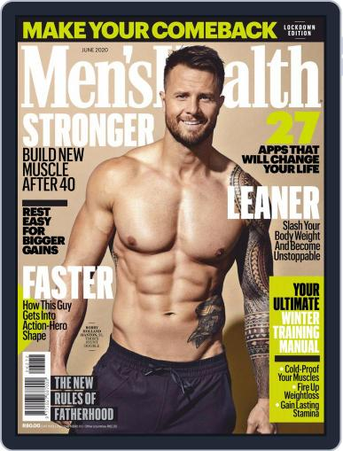Men's Health South Africa (Digital) June 1st, 2020 Issue Cover