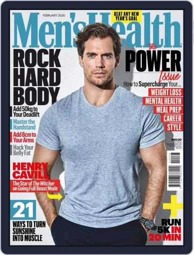 Men's Health South Africa (Digital) February 1st, 2020 Issue Cover