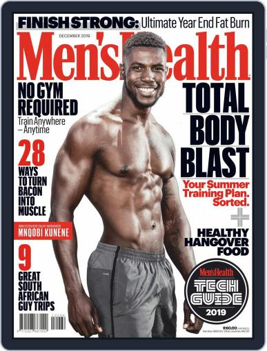 Men's Health South Africa (Digital) December 1st, 2019 Issue Cover
