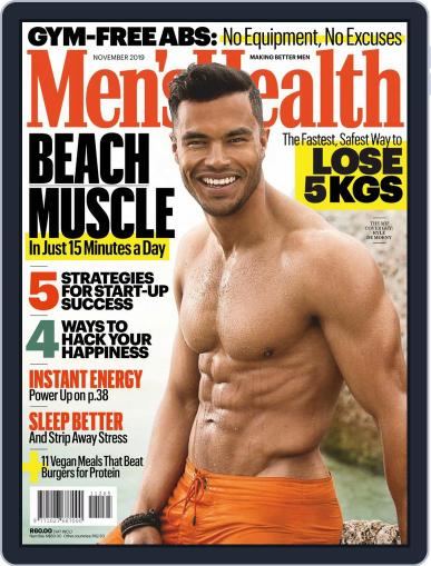 Men's Health South Africa (Digital) November 1st, 2019 Issue Cover