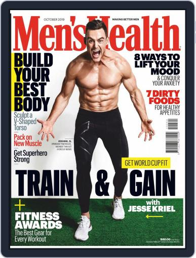 Men's Health South Africa (Digital) October 1st, 2019 Issue Cover