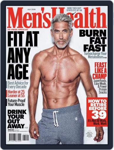 Men's Health South Africa (Digital) July 1st, 2019 Issue Cover