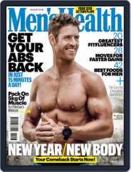 Men's Health South Africa (Digital) Subscription January 1st, 2018 Issue