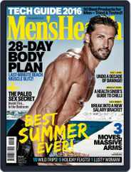 Men's Health South Africa (Digital) Subscription November 18th, 2015 Issue