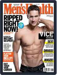 Men's Health South Africa (Digital) Subscription April 21st, 2013 Issue