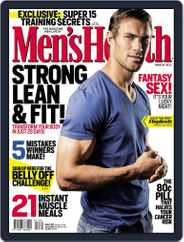 Men's Health South Africa (Digital) Subscription February 25th, 2013 Issue