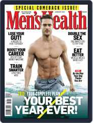 Men's Health South Africa (Digital) Subscription December 17th, 2012 Issue