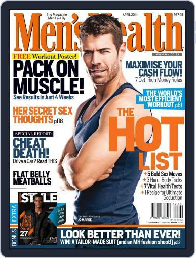 Men's Health South Africa (Digital) March 23rd, 2011 Issue Cover