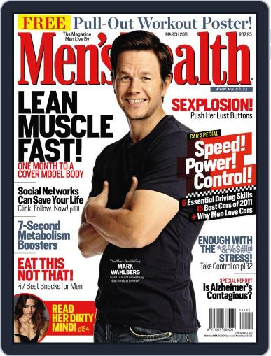 Men's Health South Africa (Digital) February 22nd, 2011 Issue Cover