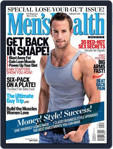 Men's Health South Africa (Digital) January 26th, 2011 Issue Cover