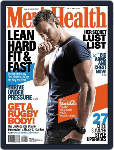 Men's Health South Africa (Digital) January 1st, 1970 Issue Cover