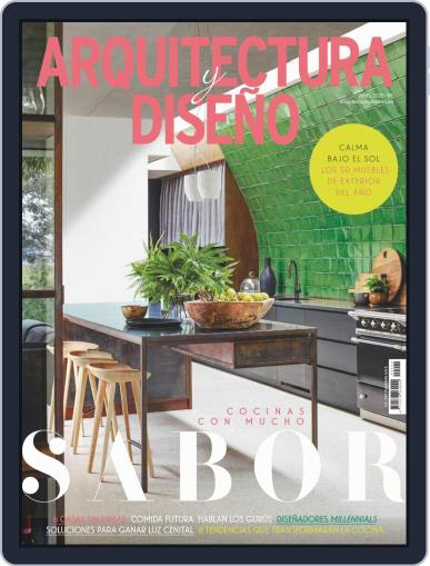 Arquitectura Y Diseño April 1st, 2020 Digital Back Issue Cover