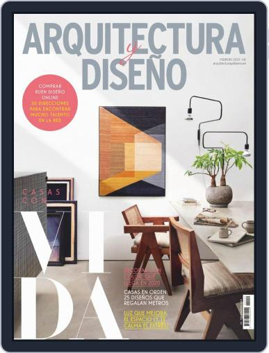 Arquitectura Y Diseño February 1st, 2020 Digital Back Issue Cover