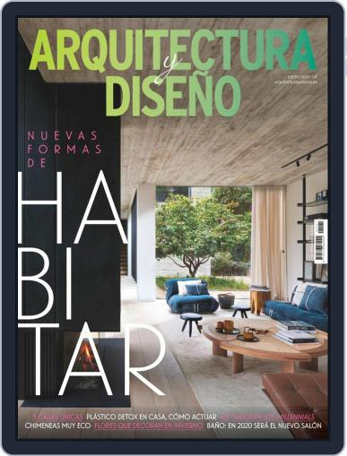 Arquitectura Y Diseño January 1st, 2020 Digital Back Issue Cover