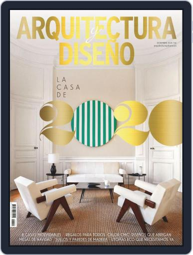 Arquitectura Y Diseño December 1st, 2019 Digital Back Issue Cover