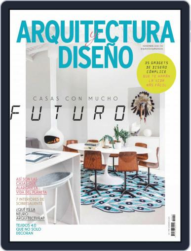 Arquitectura Y Diseño November 1st, 2019 Digital Back Issue Cover