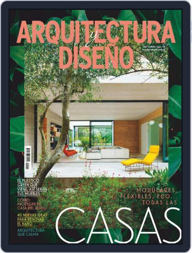 Arquitectura Y Diseño September 1st, 2019 Digital Back Issue Cover