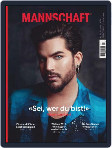 Mannschaft Magazin (Digital) September 1st, 2019 Issue Cover