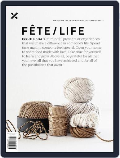 Fête (Digital) December 17th, 2019 Issue Cover