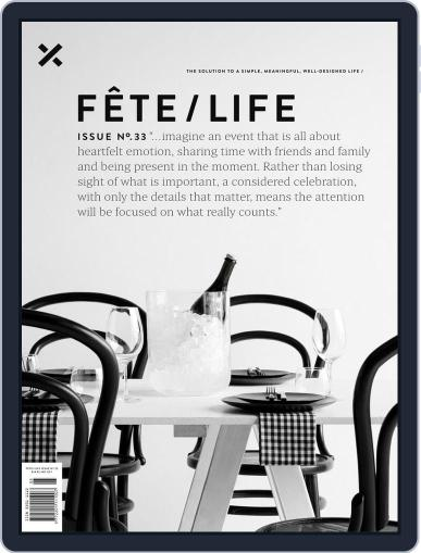 Fête (Digital) October 16th, 2019 Issue Cover