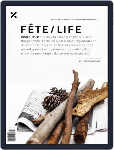 Fête (Digital) May 30th, 2019 Issue Cover