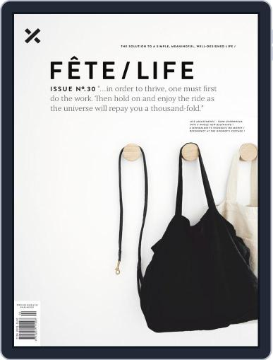 Fête (Digital) March 26th, 2019 Issue Cover