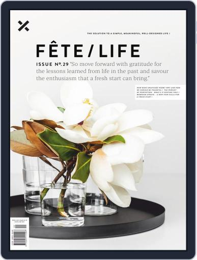 Fête (Digital) December 28th, 2018 Issue Cover