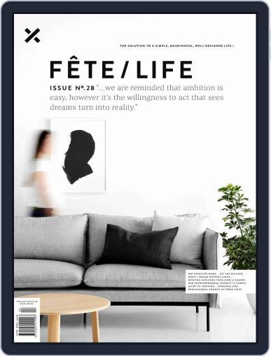 Fête (Digital) September 5th, 2018 Issue Cover