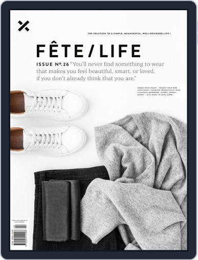 Fête (Digital) May 1st, 2018 Issue Cover