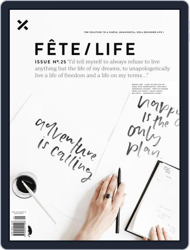 Fête (Digital) February 21st, 2018 Issue Cover
