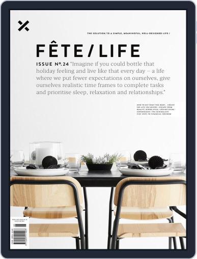 Fête (Digital) November 27th, 2017 Issue Cover