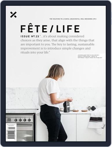 Fête (Digital) September 19th, 2017 Issue Cover