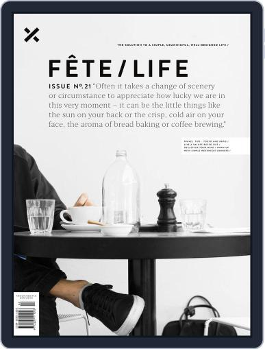 Fête (Digital) April 1st, 2017 Issue Cover