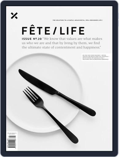 Fête (Digital) March 1st, 2017 Issue Cover