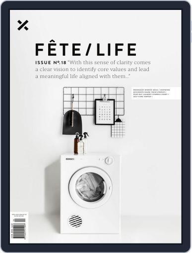 Fête (Digital) September 1st, 2016 Issue Cover