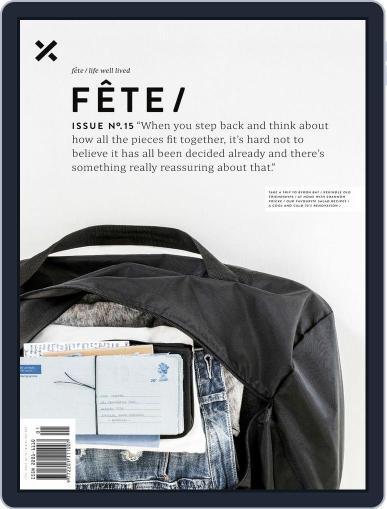 Fête (Digital) February 1st, 2016 Issue Cover