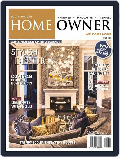 South African Home Owner (Digital) June 1st, 2020 Issue Cover