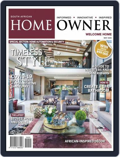 South African Home Owner (Digital) May 1st, 2020 Issue Cover