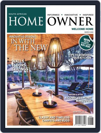 South African Home Owner (Digital) March 1st, 2020 Issue Cover