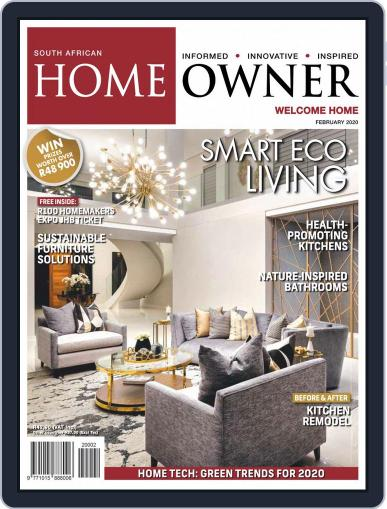 South African Home Owner (Digital) February 1st, 2020 Issue Cover