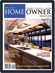 South African Home Owner (Digital) Subscription April 1st, 2017 Issue
