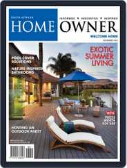 South African Home Owner (Digital) Subscription November 1st, 2016 Issue