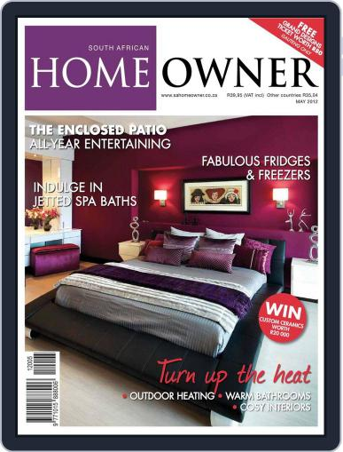 South African Home Owner (Digital) April 22nd, 2012 Issue Cover