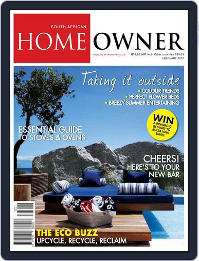 South African Home Owner (Digital) January 23rd, 2012 Issue Cover