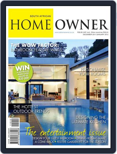 South African Home Owner (Digital) December 8th, 2011 Issue Cover