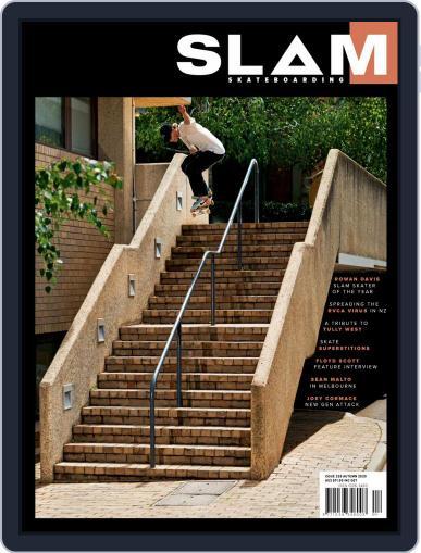 Slam Skateboarding March 1st, 2020 Digital Back Issue Cover