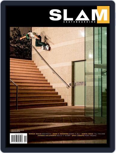 Slam Skateboarding December 1st, 2019 Digital Back Issue Cover